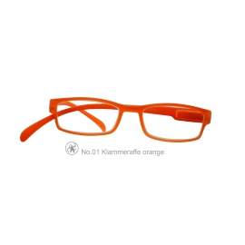Lesebrille Klammeraffe 01 ORANGE