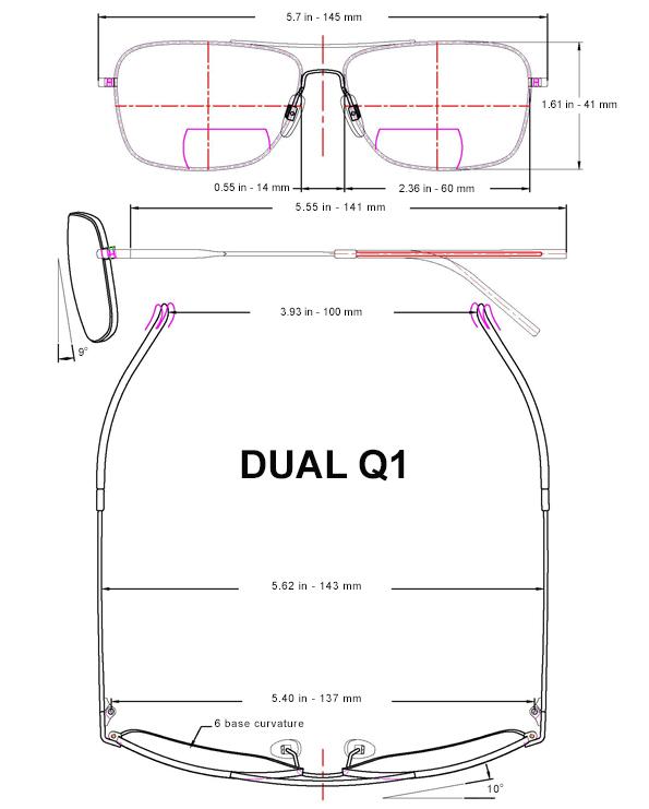 Brillenmaß Q1